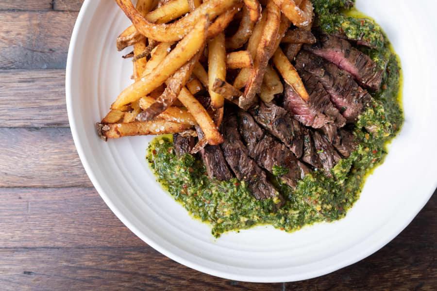 Chimichurri Steak Frites
